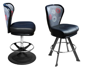 Lunar range | casino seating | Gaming stools | Karo