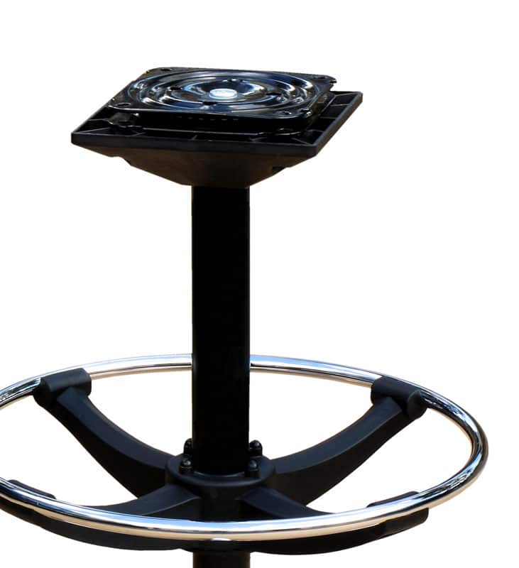 swivel mechanism for gaming stool and casino chair