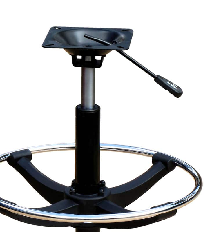 gas height adjustment swivel mechanism for casino chair