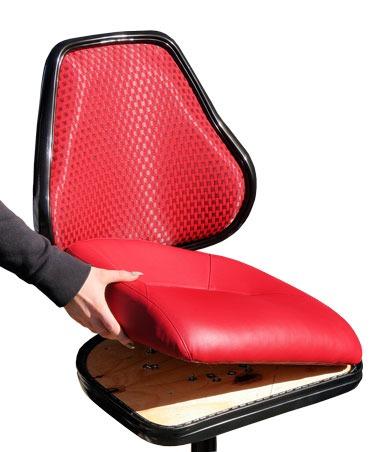 gaming stools | quick-release seat | Karo casino seating