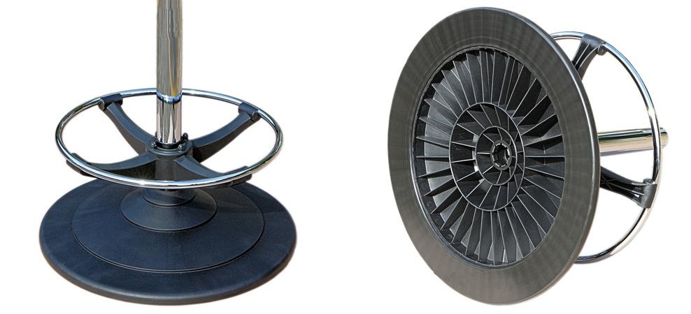 ezi-glide disc base | casino seating | gaming stools | Slot chairs | Karo