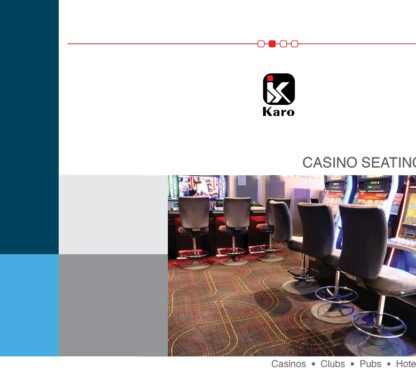 casino seating | gaming stools | Catalogue | Karo