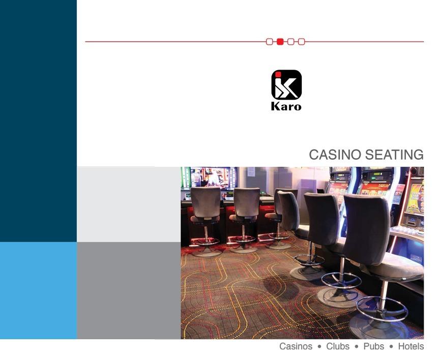 casino seating | gaming stools | Catalogue | Karo