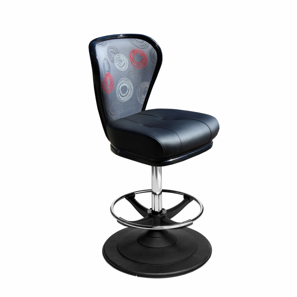 Lunar casino chair and gaming stool