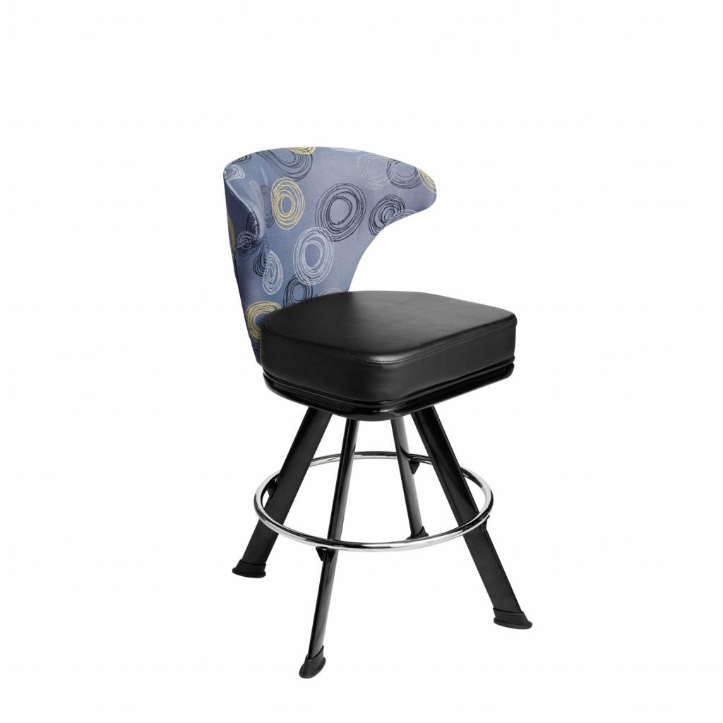 Mercury casino chair and gaming stool