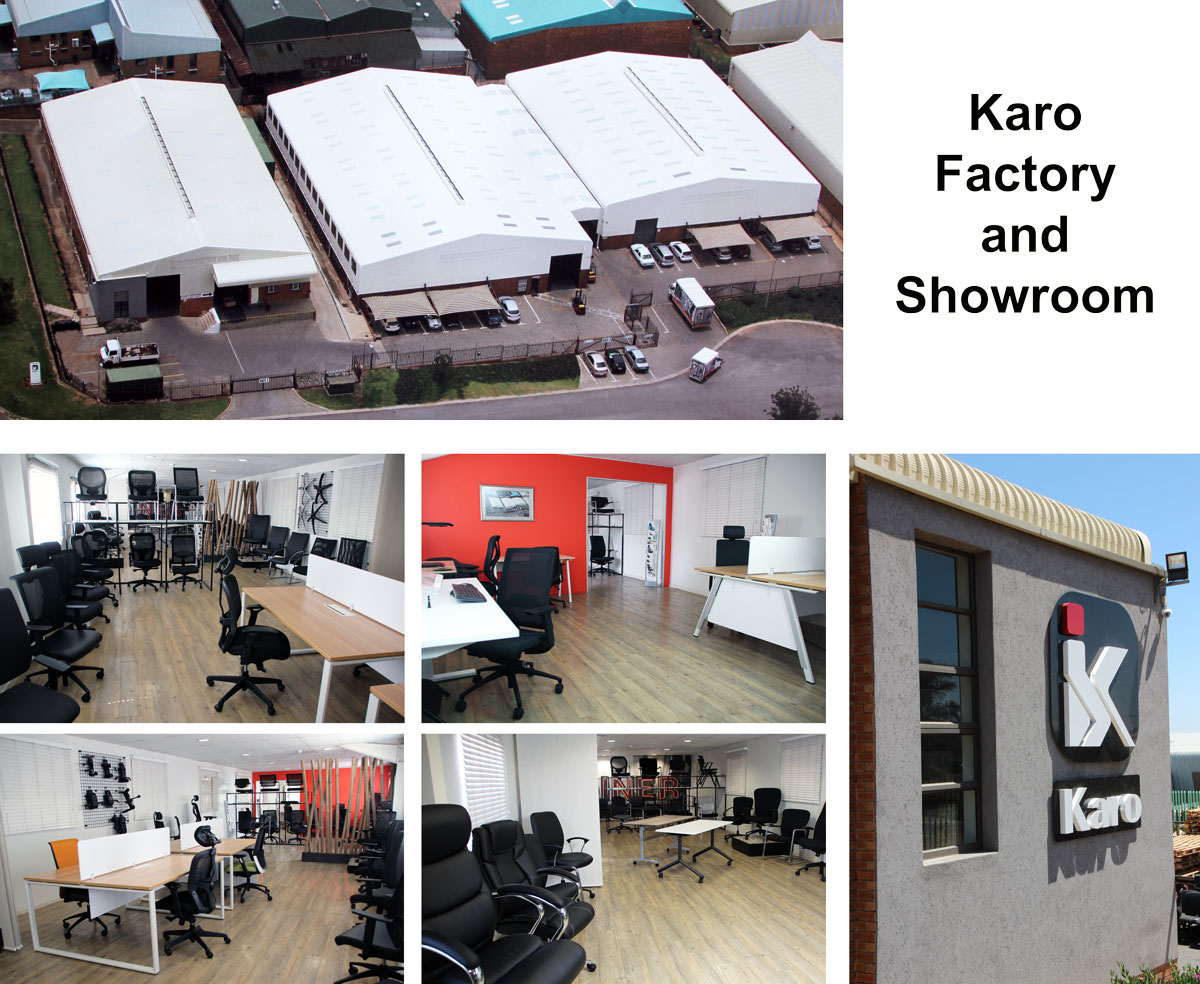 Karo factory and showroom, South Africa