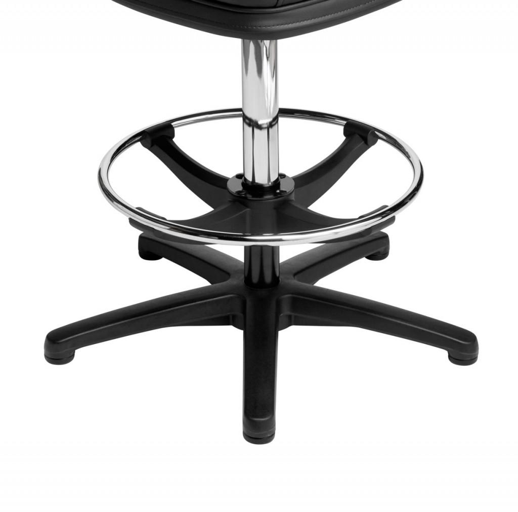 5-star nylon bases for gaming machine stools