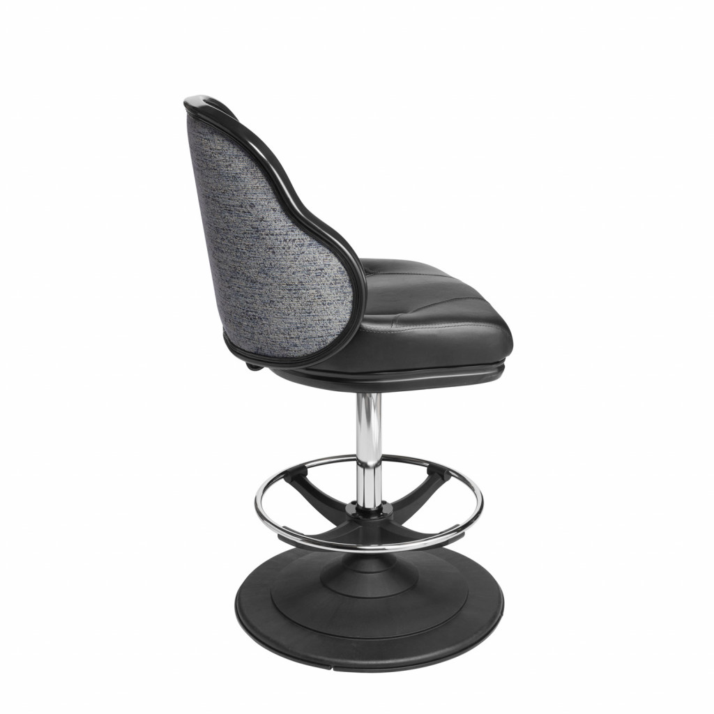 Jupiter casino chair and gaming stool can be fitted with gas height adjustment