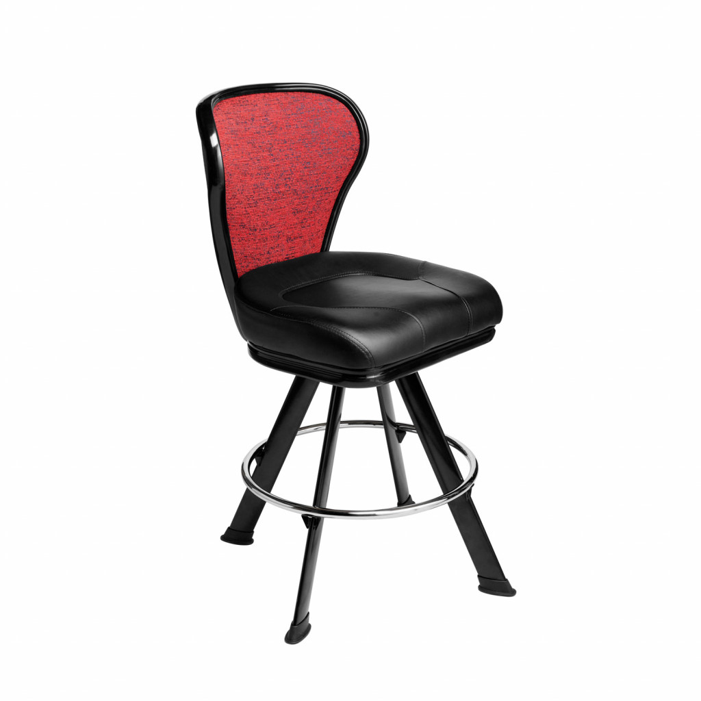 pegasus gaming stool casino chair with optional embroidery